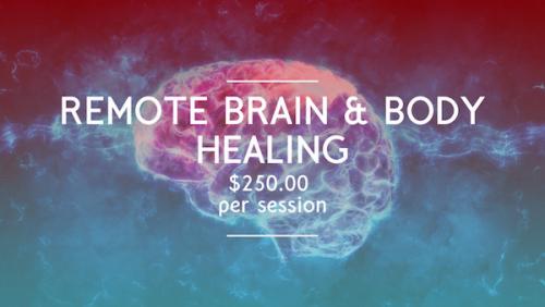 Remote Brain Healing